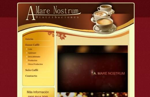 amarenostrum diseño web