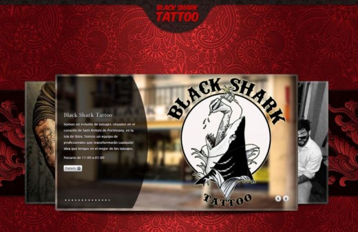 black tatto web page