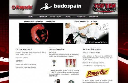 budospain web page