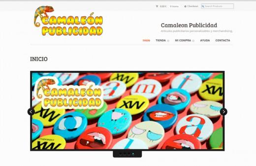camaleon publicidad diseño web
