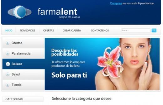 farmalent diseño web