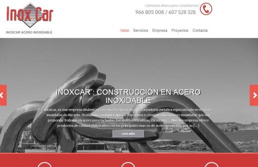 inoxcar diseño web
