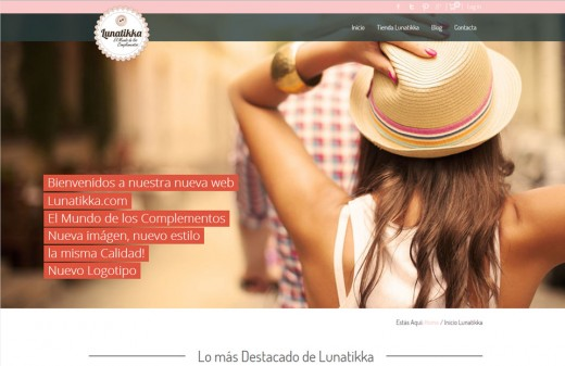 lunatikka diseño web
