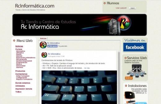rc informatica diseño web