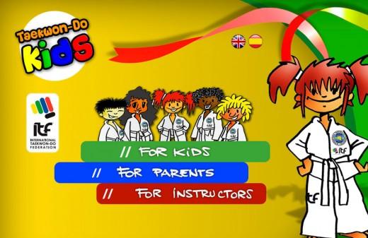 taekwondo kids diseño web