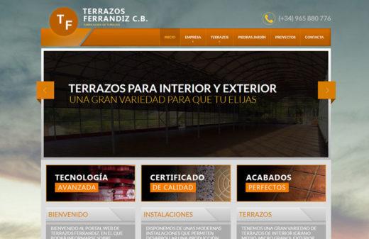 terranzos ferrandiz diseño web