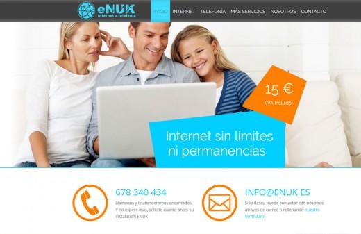 enuk diseño web
