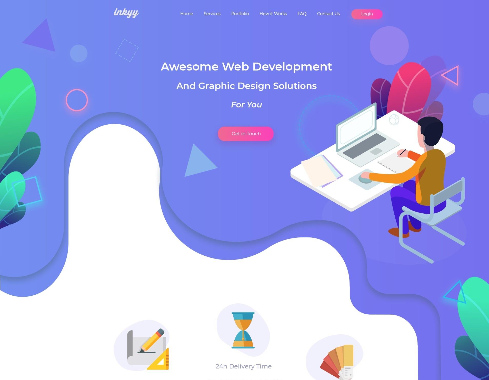 tendencias diseño web 2019 natural